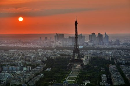 paysage parisien