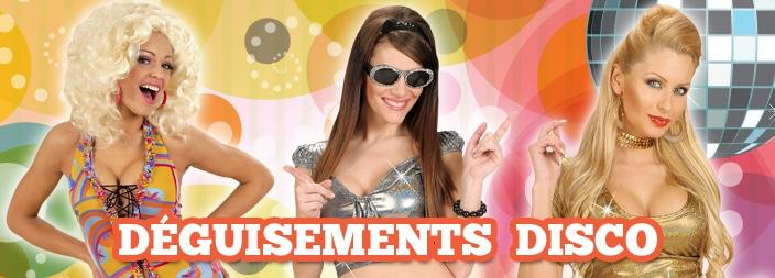 des exemples de déguisements disco pour femme