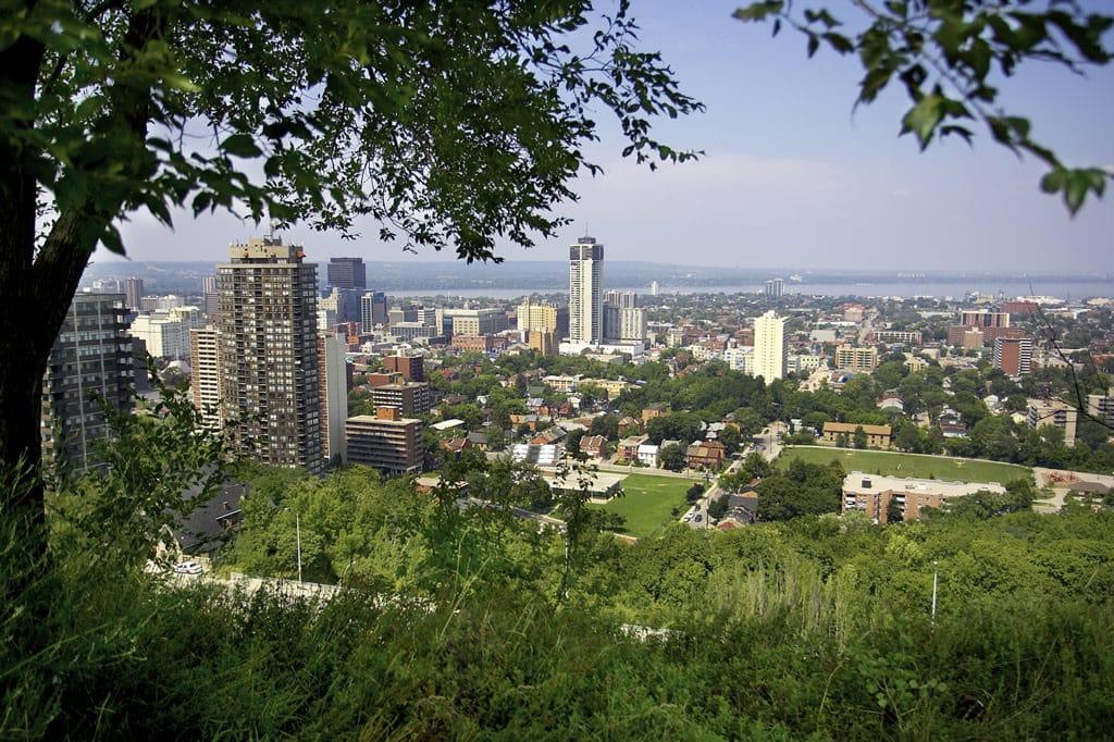 Hamilton au Canada