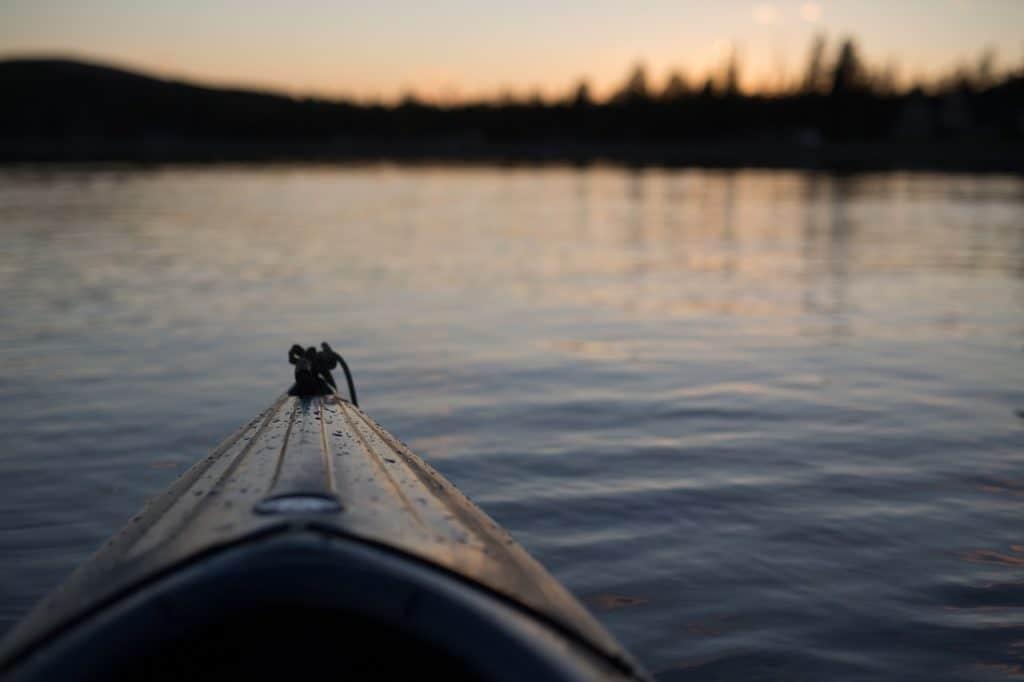 Ma dernière sortie en kayak
