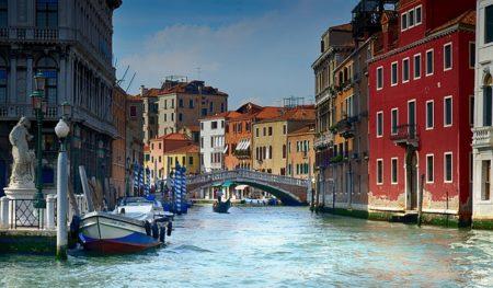 une ville d'italie
