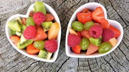 portions de fruits