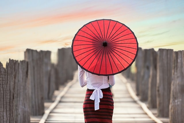 parapluie asiatique