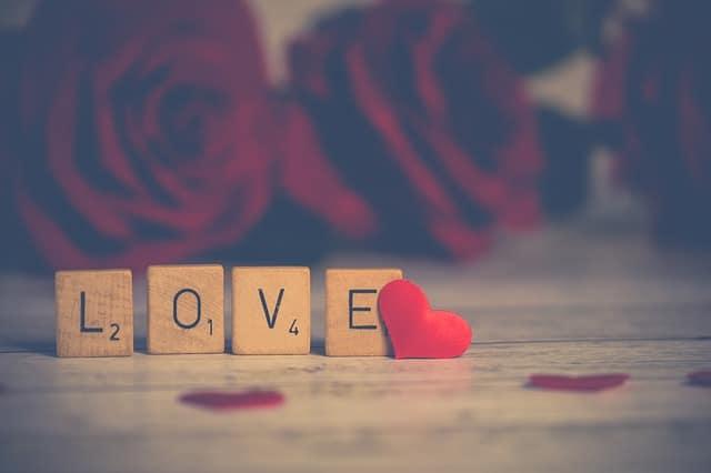 signe d'amour