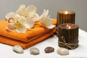 serviette de massage