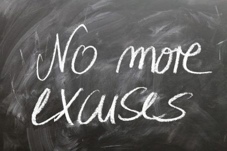 panneau d'excuses