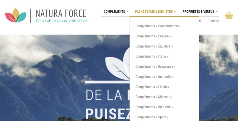 pack natura force