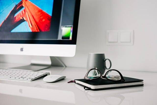 un bureau à domicile