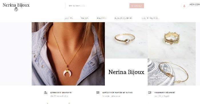 site nerina bijoux