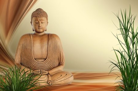 bouddhiste en pierres