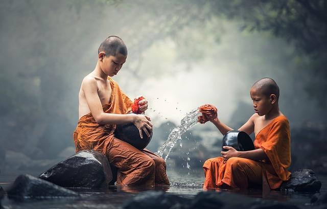 bouddhiste riviere