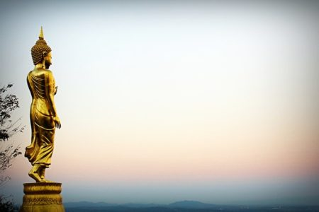 statue de bouddhiste