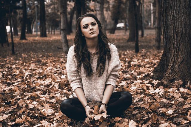 femme en dépression