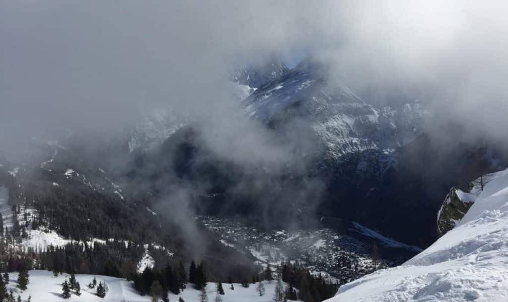 le froid en montagne