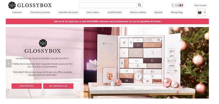commentaires sur glossybox