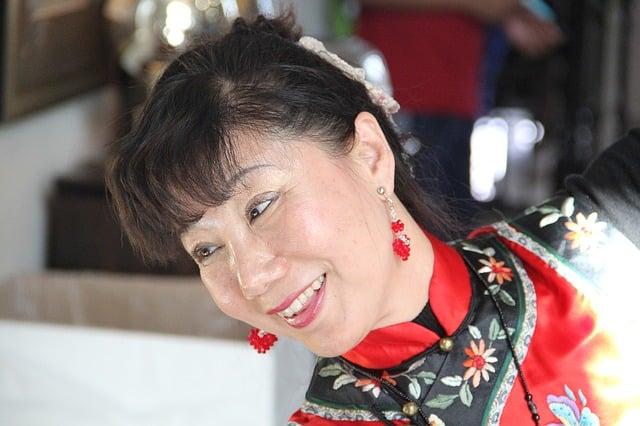 vetements ethniques asiatiques