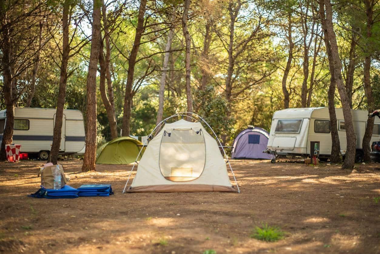 séjour au camping famille