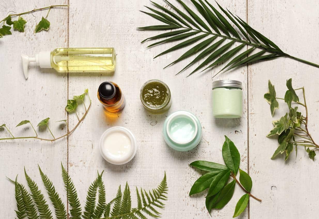 produits cosmétiques naturels pour la peau