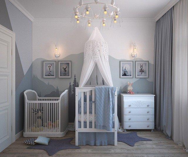 une belle chambre de bébé