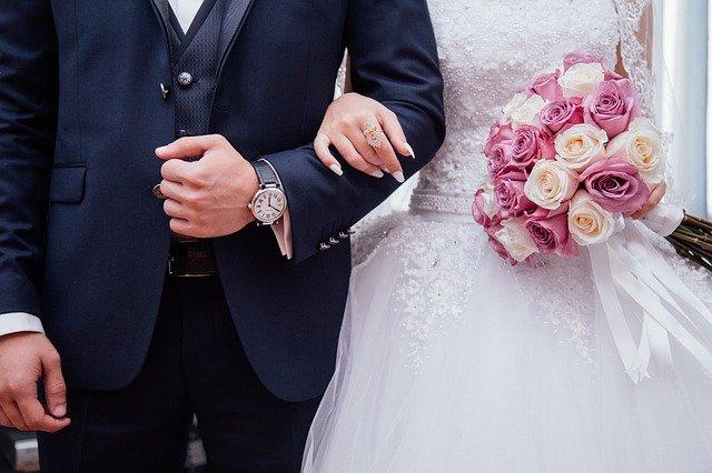 un couple marié