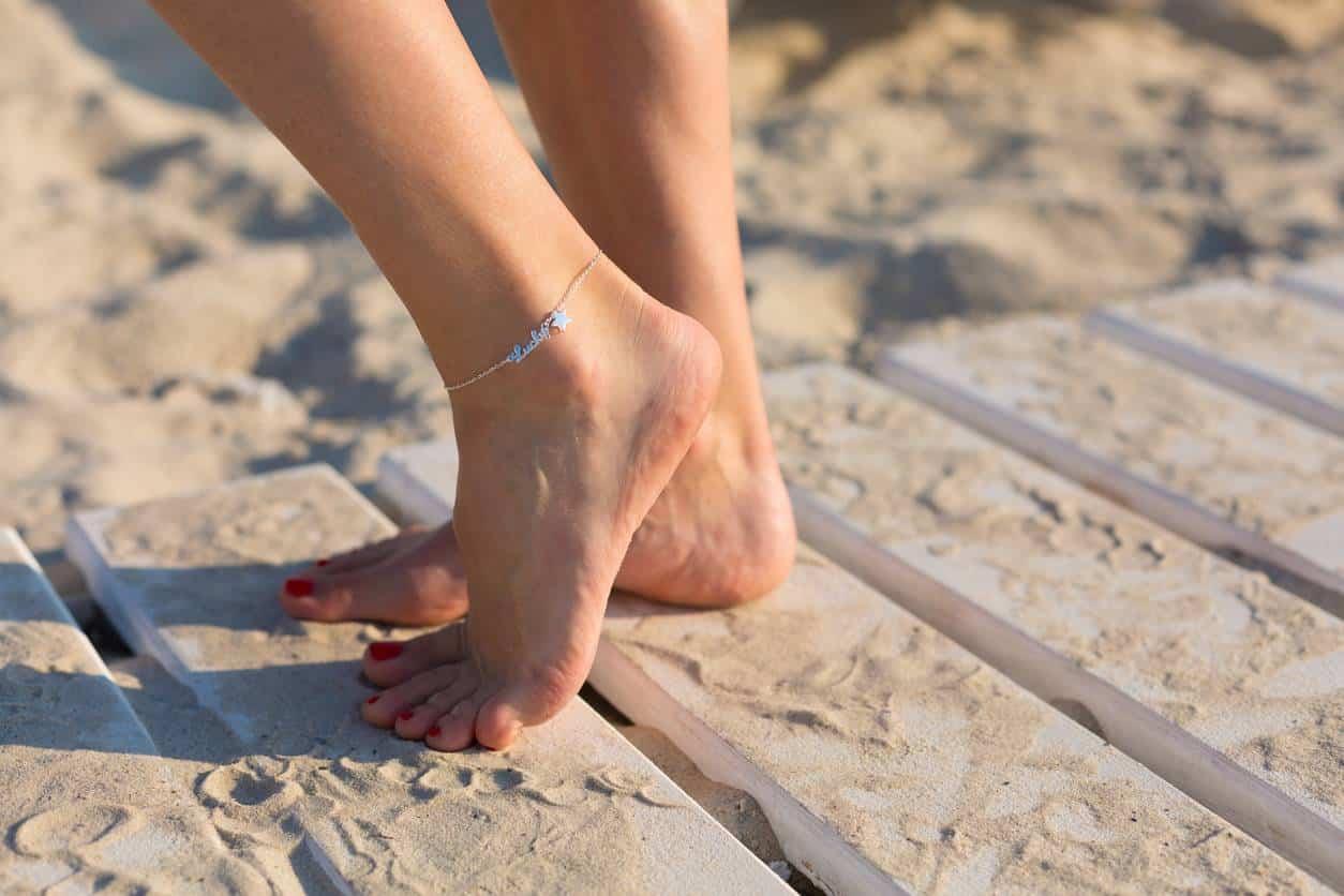bracelet de cheville bijou accessoire fantaisie