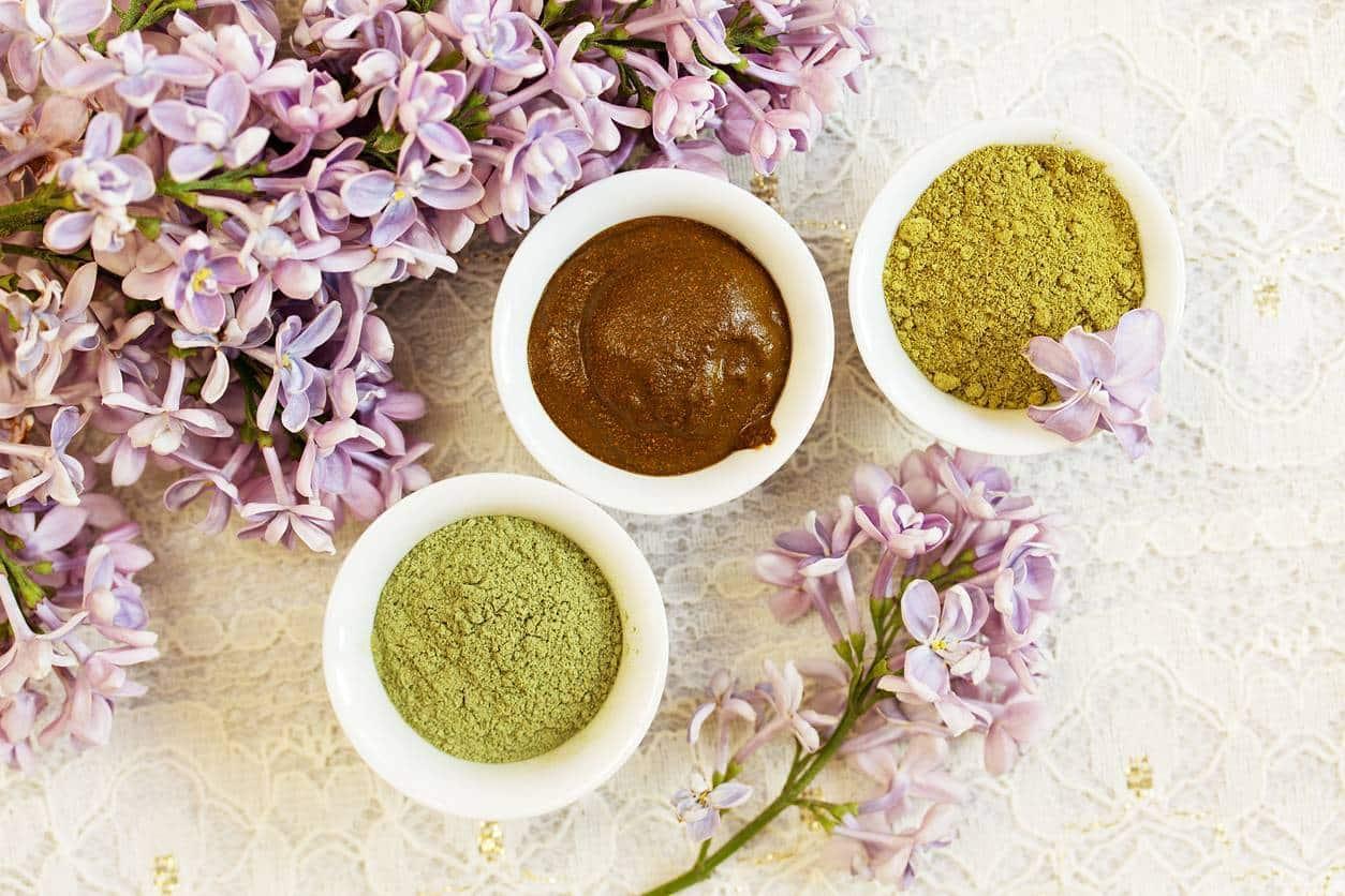 cosmétique végétal plantes henné coloration de cheveux végétale bio