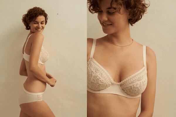 femme avec soutien gorge grande taille